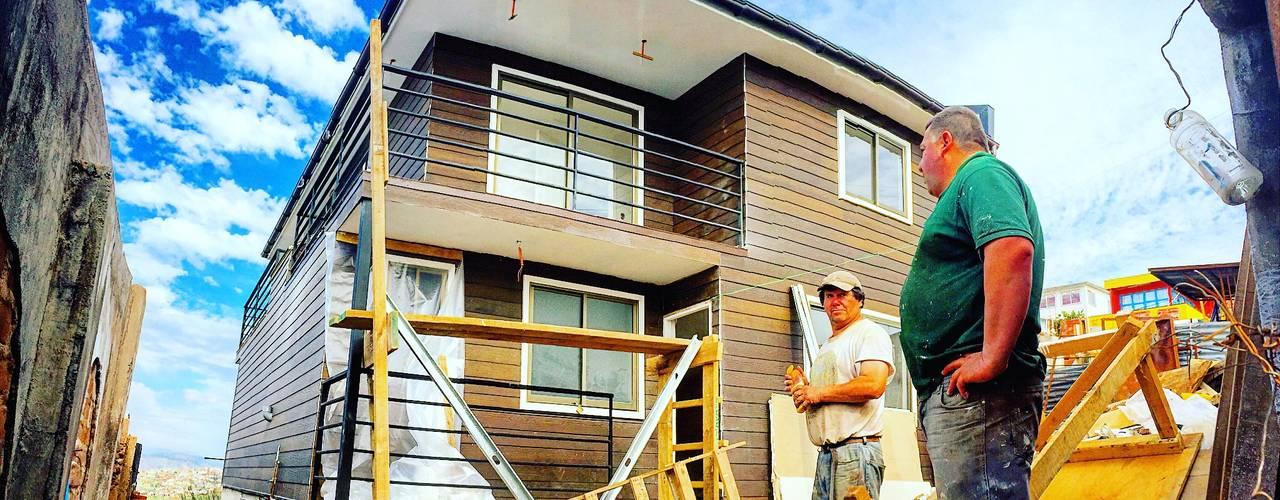 Casas de estilo  por Rodrigo Chávez Arquitecto