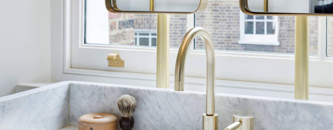 Islington House Baños de estilo ecléctico de Gundry & Ducker Architecture Ecléctico