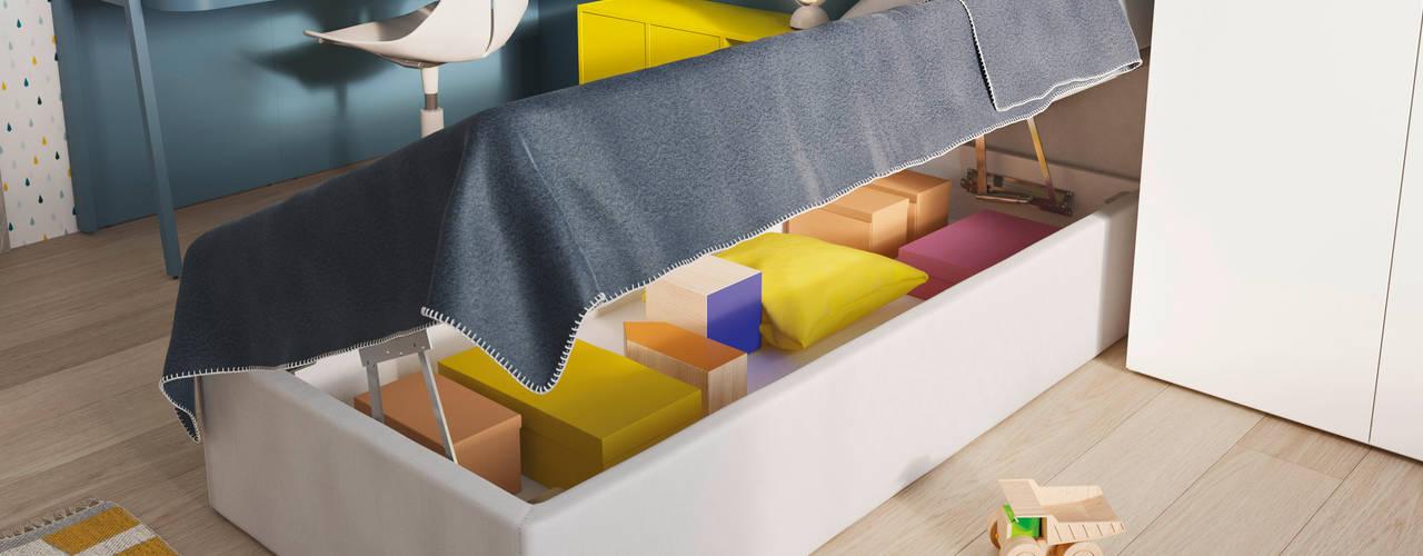 Chambre d'enfant moderne par Nidi Moderne