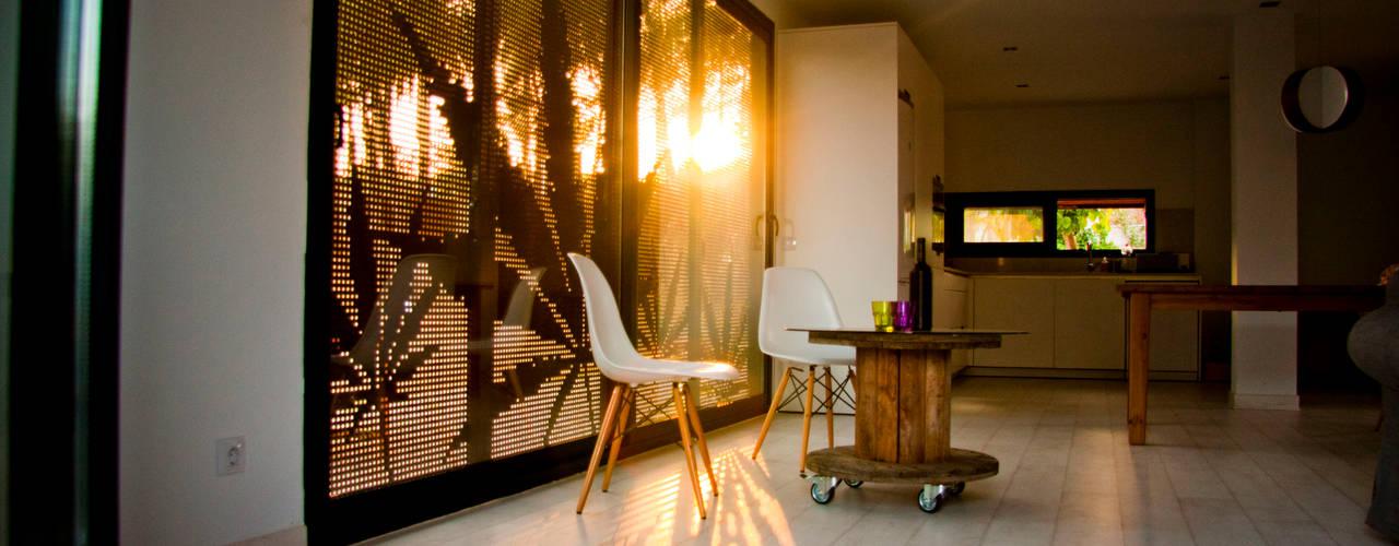 Projekty,  Salon zaprojektowane przez james&mau