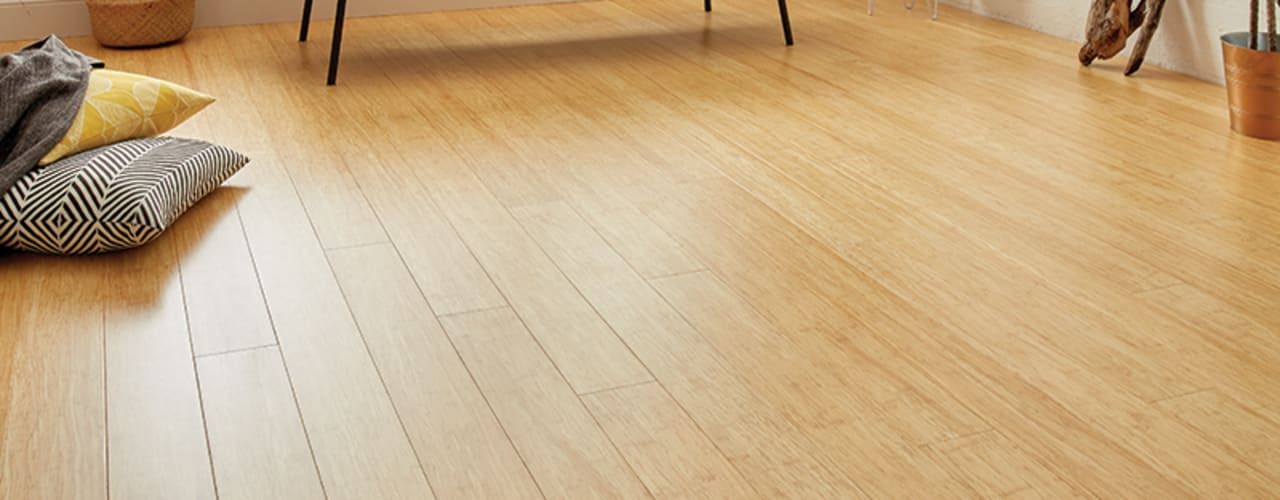 Bamboo Flooring Woodpecker Flooring Modern walls & floors Bamboo Amber/Gold