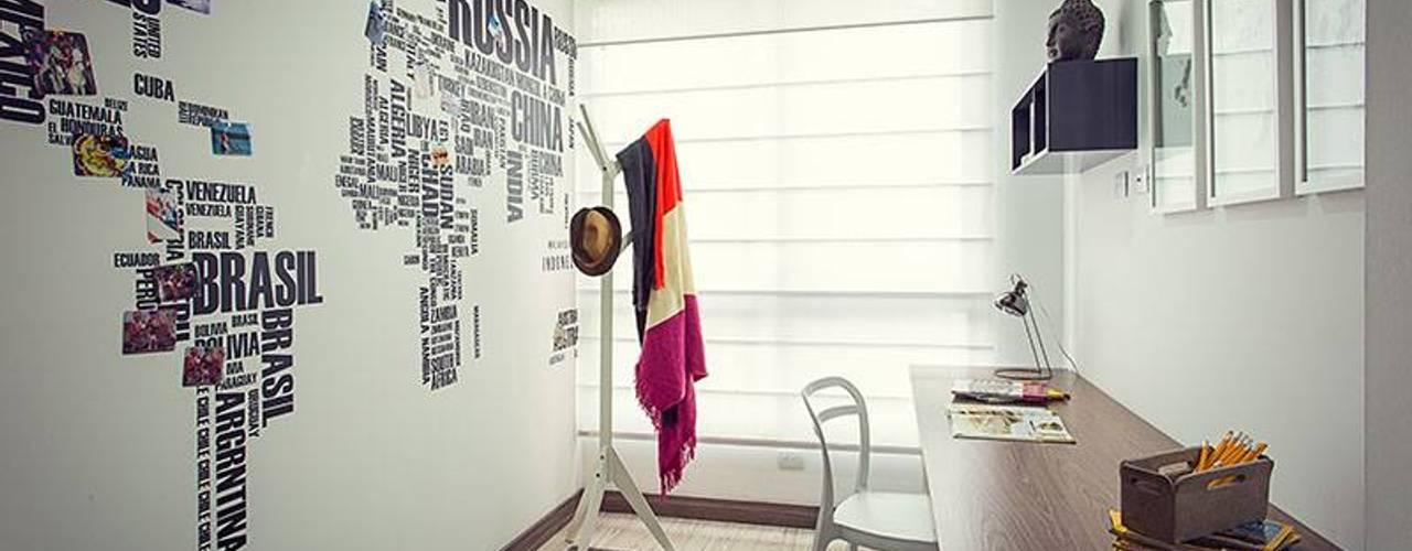 Maria Mentira Studio Estudios y despachos de estilo moderno Madera Gris