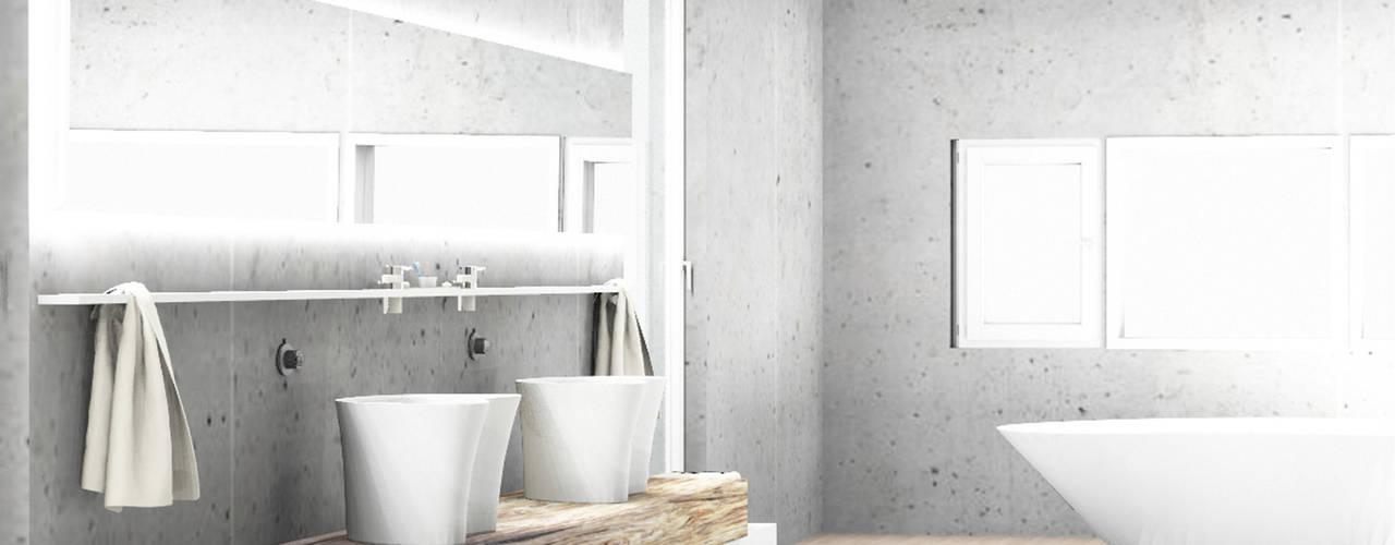 minilalista & rustico Baños de estilo minimalista de NSG interior Design & Projects, reformas y decoración en Mallorca Minimalista