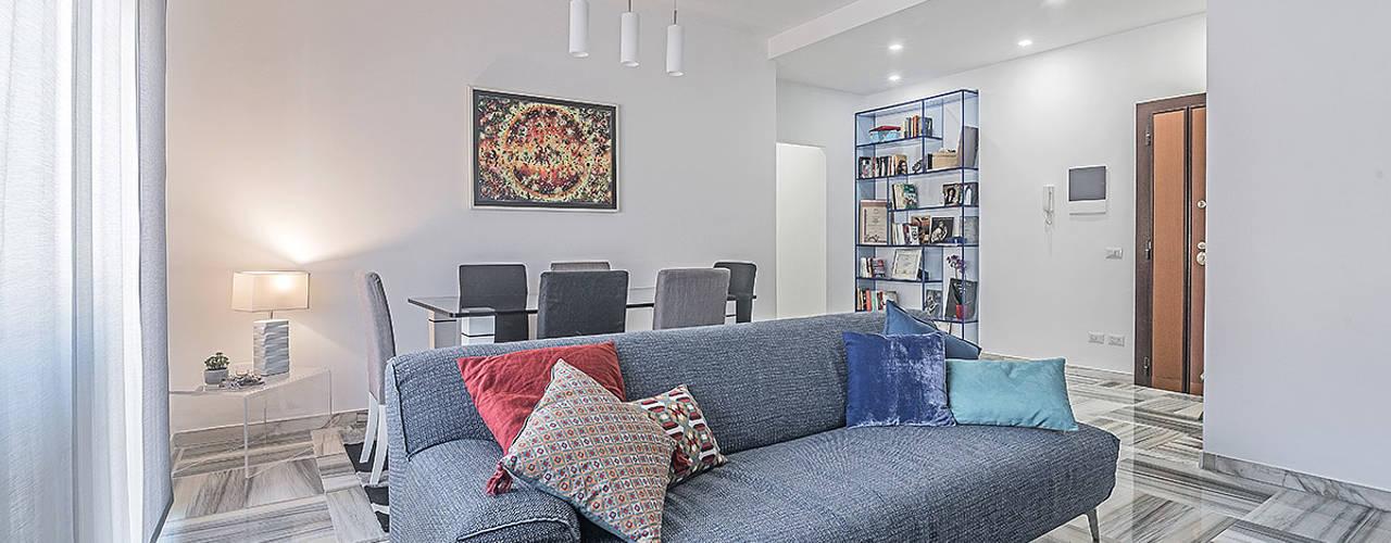 Moderne woonkamers van Facile Ristrutturare Modern
