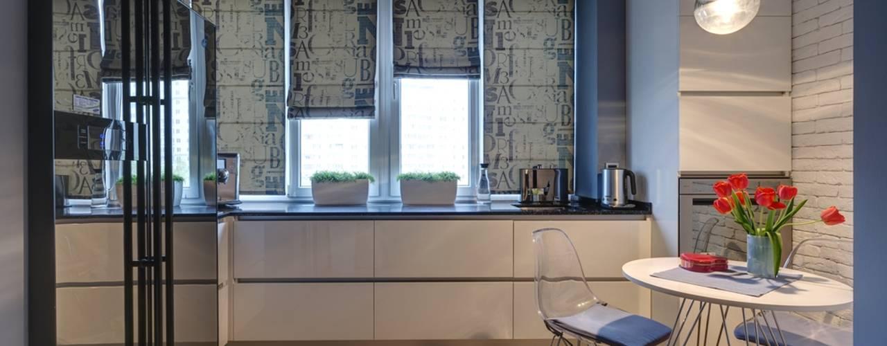 Apartments for stylish women: Кухни в . Автор – Natali Vasilinka