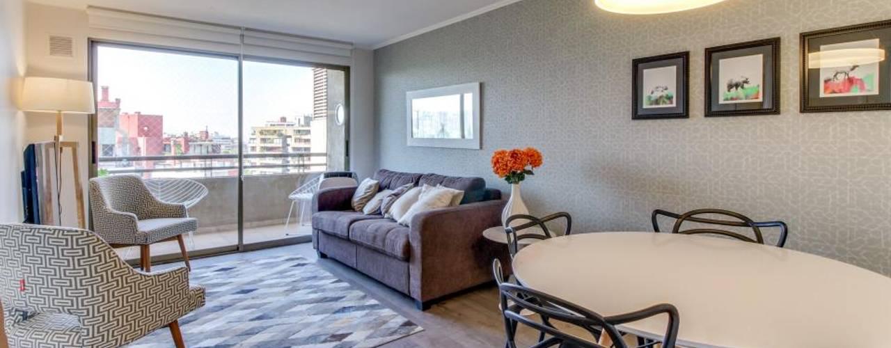 Especial casas peque as c mo iluminar el living y comedor for Iluminacion minimalista interiores