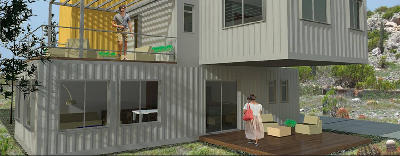 Casa AIC_01 Casas modernas de Arq+In Arquitectura Integral Moderno