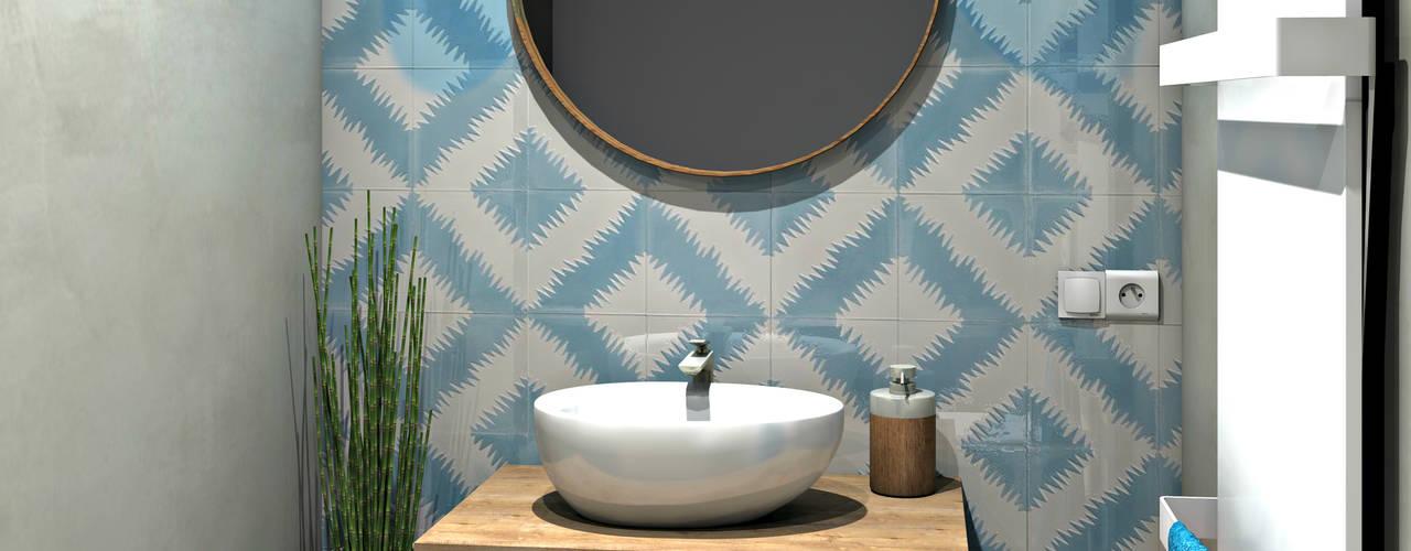 Bathroom by MJ Intérieurs,