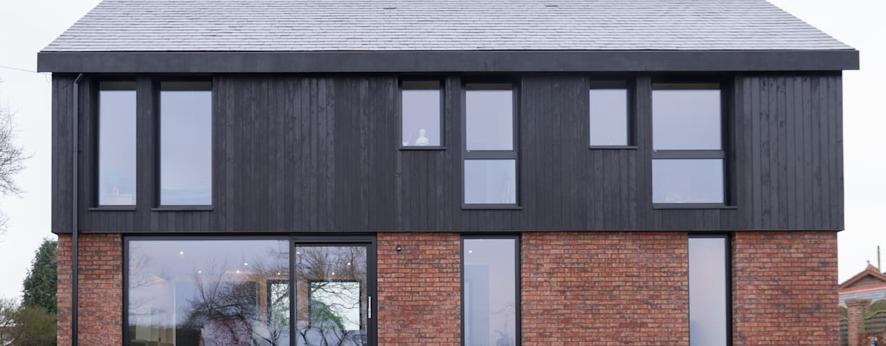Private House Cheshire:  Houses by guy taylor associates,
