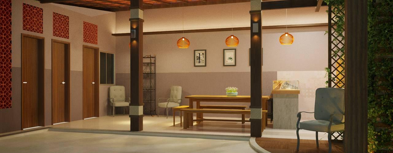 Garages de estilo clásico por Reinaldo Pampolha Arquitetura