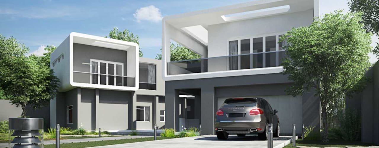 Modern Houses by Essar Design Modern