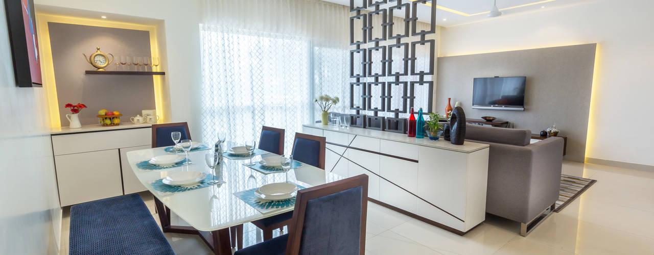 KRIYA LIVING Modern dining room