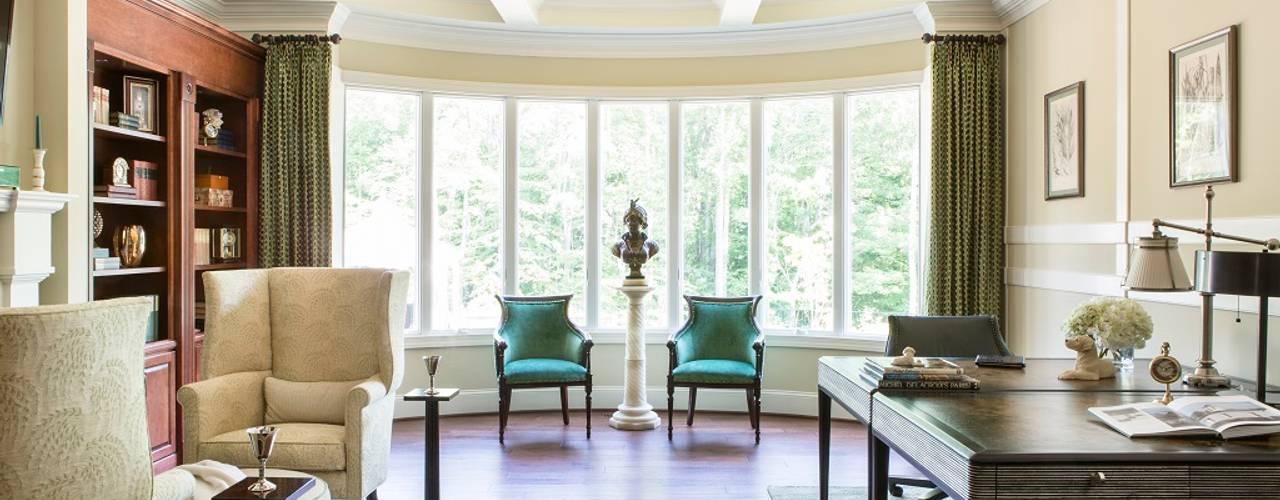 Klassieke studeerkamer van Lorna Gross Interior Design Klassiek
