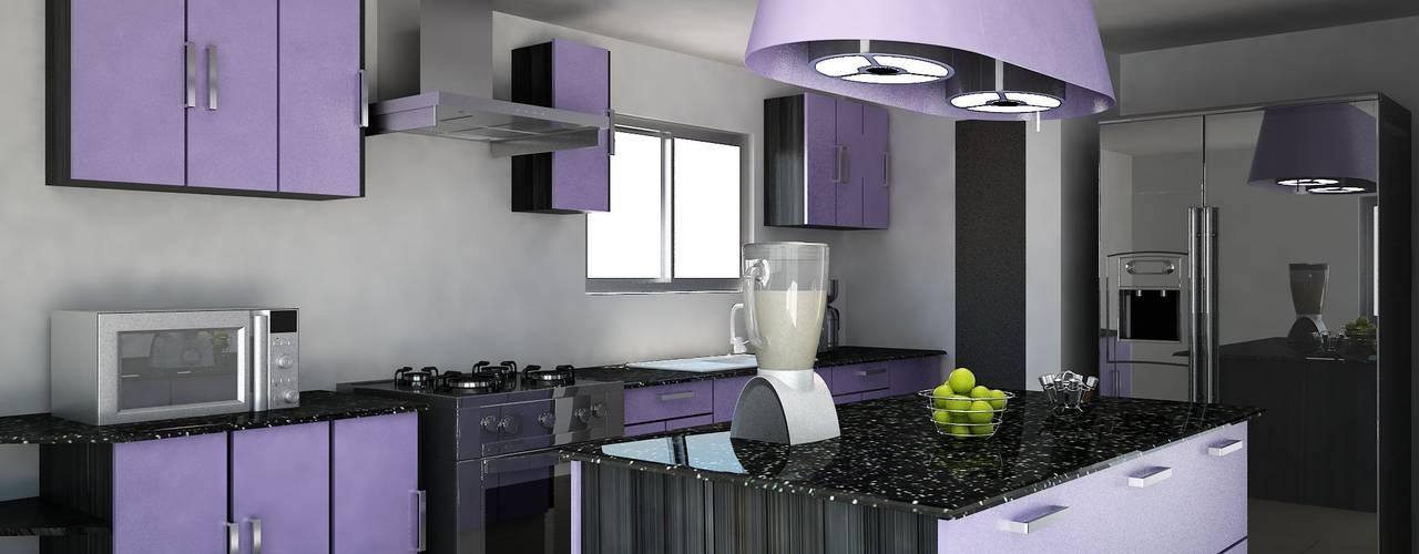 Los 10 colores para pintar tu cocina y que se vea for Ejemplo de color de pintura de cocina