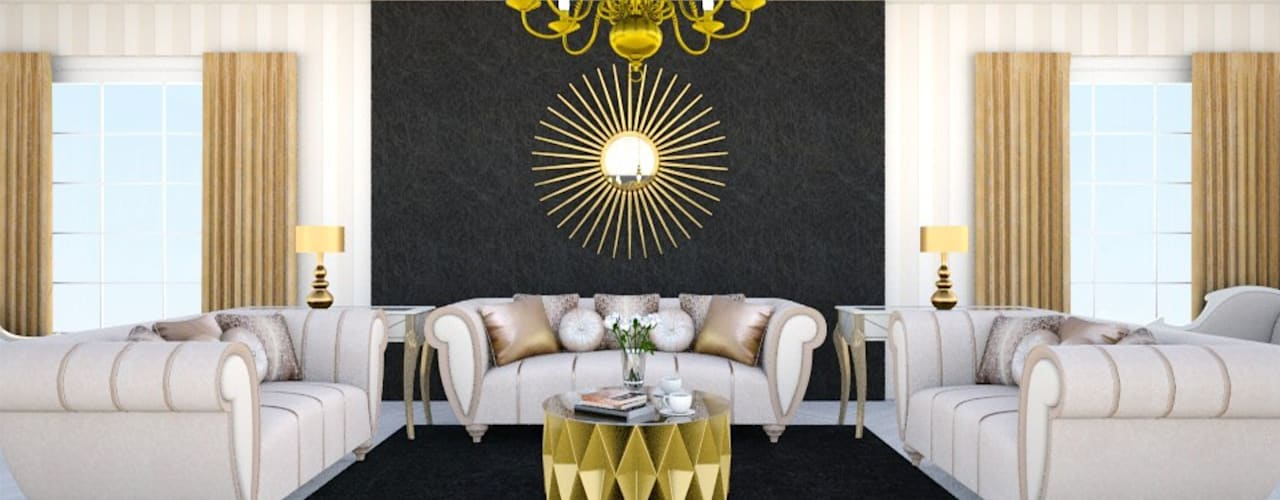 Living room by 'Design studio S-8'