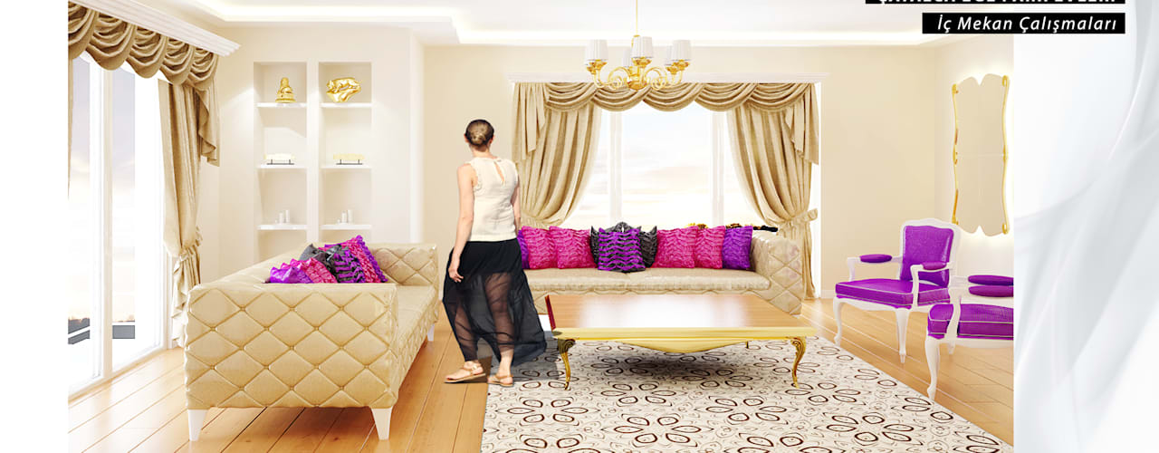 Mutfakta, oturma odasında, yatak odasında perdelerin uzunluğu ne olmalı