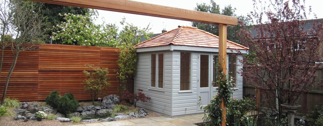 Cley Summerhouse CraneGardenBuildings Garages & sheds