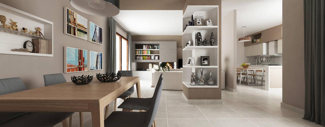 Ruang Keluarga by De Vivo Home Design