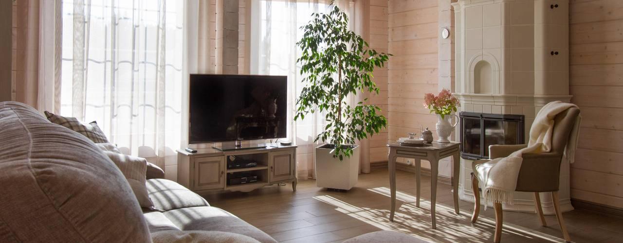 Гостиная: Гостиная в . Автор – Svetlana Chernova Interior