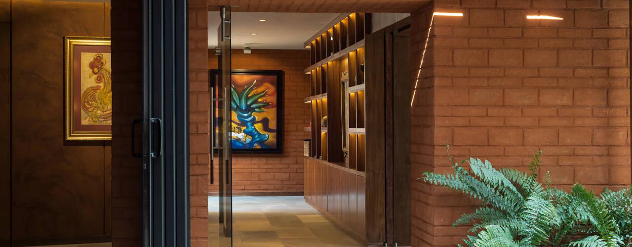 CASA C260: Casas de estilo  por HDA: ARQUITECTURA BIOCLIMATICA