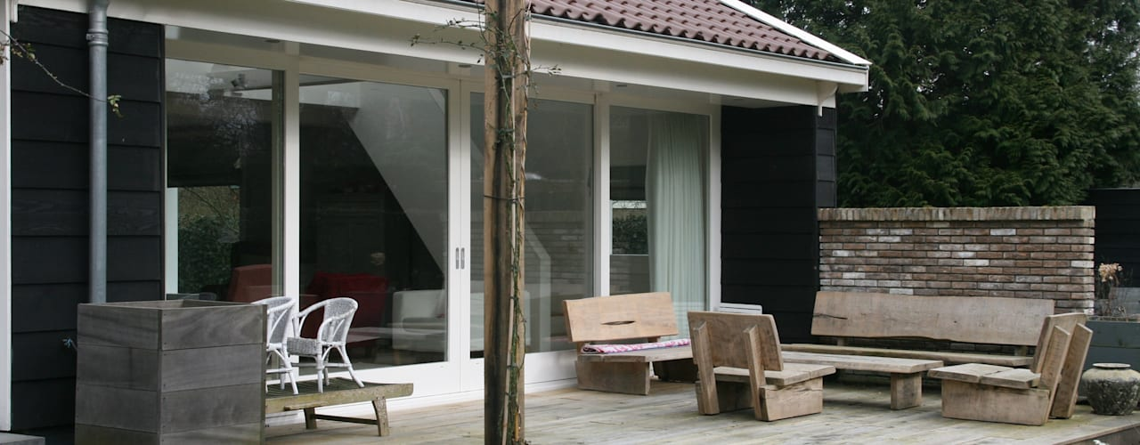 Groorland Moderne tuinen van JE-ARCHITECTEN Modern