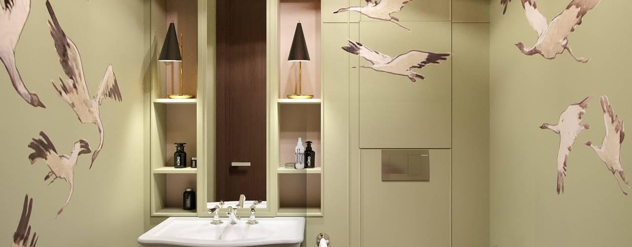 Projekty,  Łazienka zaprojektowane przez MARION STUDIO