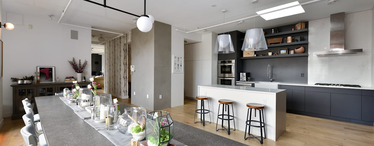 Renovation at 7 Wooster:  Kitchen by KBR Design and Build