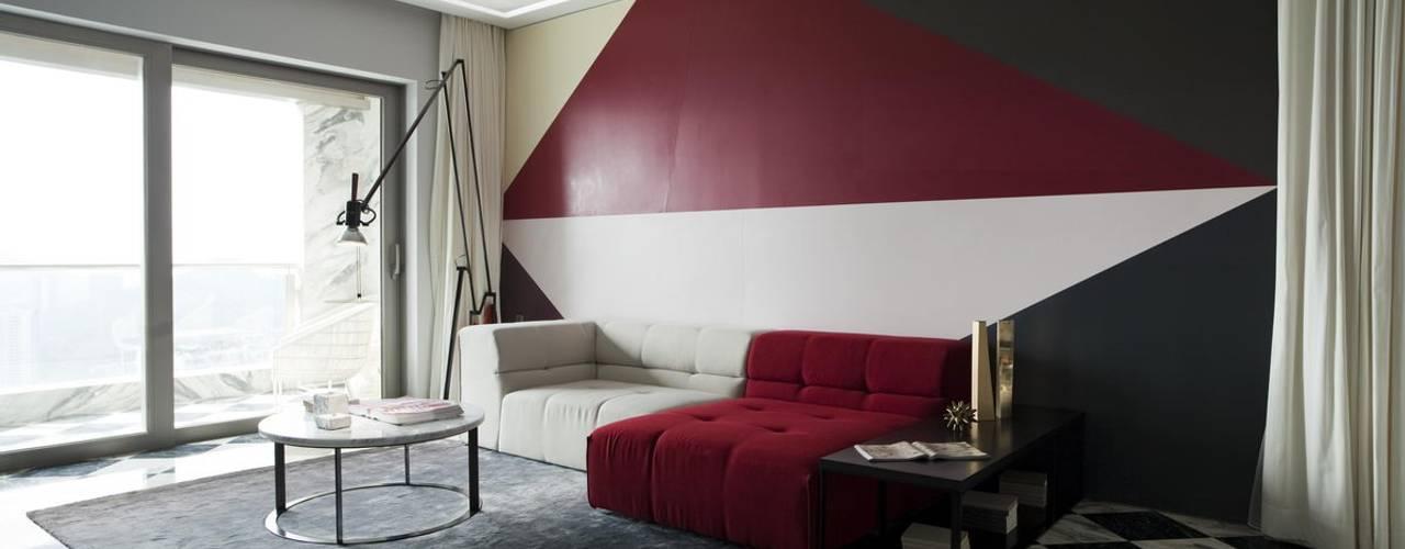 Living Room:  Living room by Sergio Mannino Studio