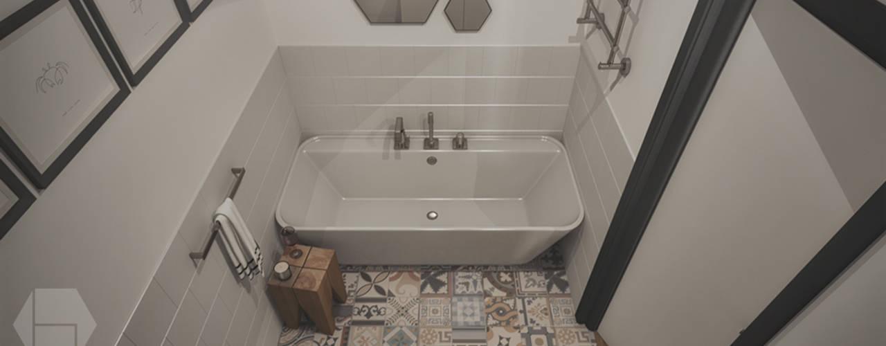 modern Bathroom by hexaform