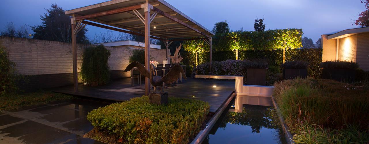 Gedetailleerd design. Heart for Gardens. Moderne tuinen