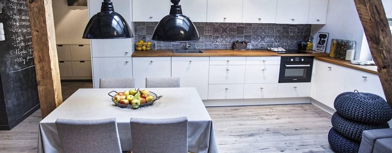 Cuisine de style  par Limonki Studio Wojciech Siudowski, Scandinave