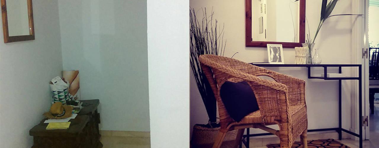 Pasillos y vestíbulos de estilo  por SH Interiorismo, Moderno