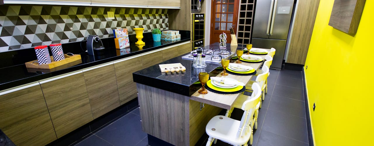 Kitchen by Amanda Matarazzo Interiores, Modern
