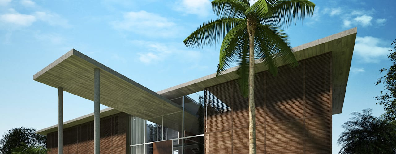 Key Biscayne by Fernandez Architecture Tropical
