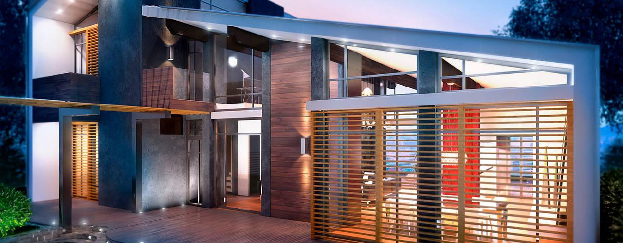 Projekty,  Domy zaprojektowane przez Apriori Albero