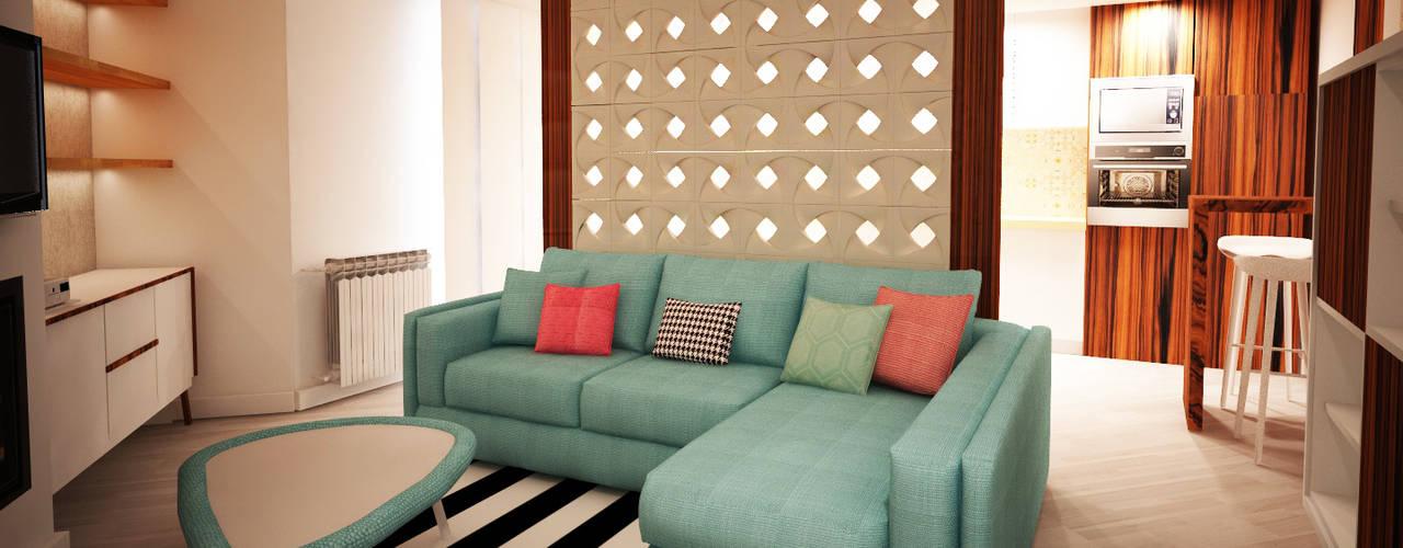 Home sweet apartment TC elements® Paredes e pisos ecléticos