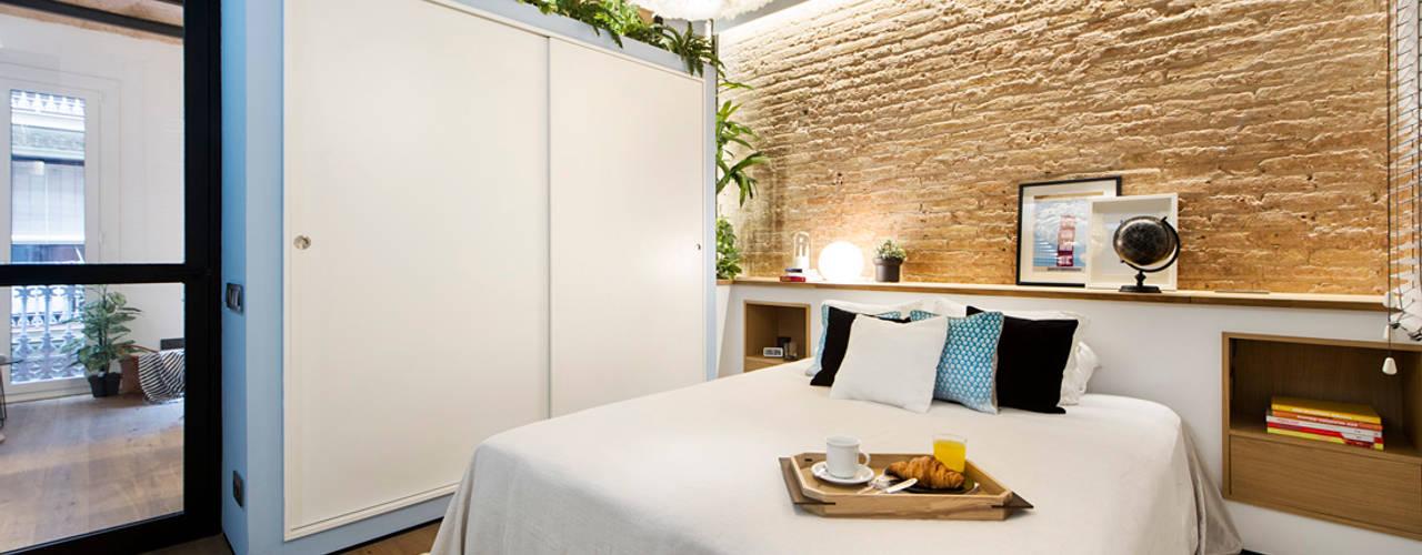 Projekty,  Sypialnia zaprojektowane przez Egue y Seta