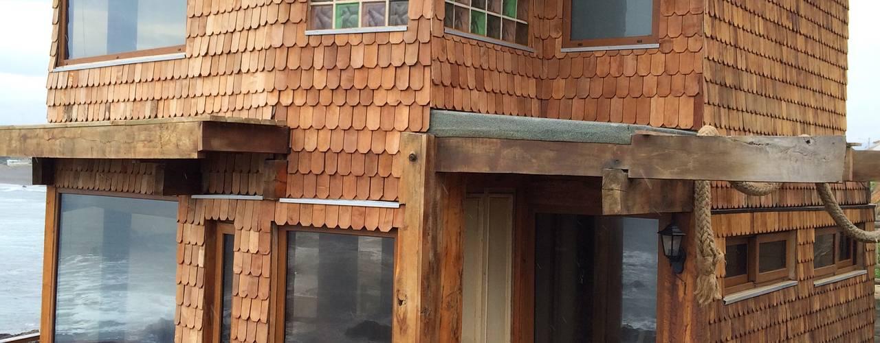 CASA INFIERNILLO Casas de estilo rústico de BLAC arquitectos Rústico