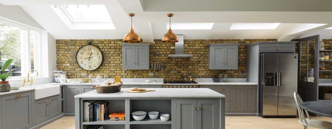 The SW12 Kitchen by deVOL:   by deVOL Kitchens,