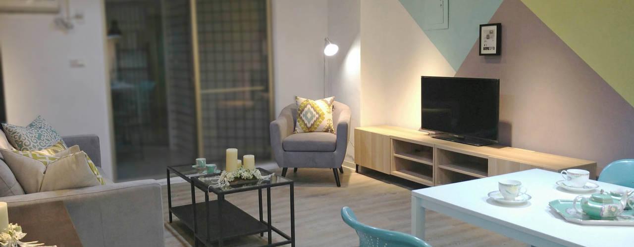 台中彩色美型出租宅 根據 以恩設計 北歐風