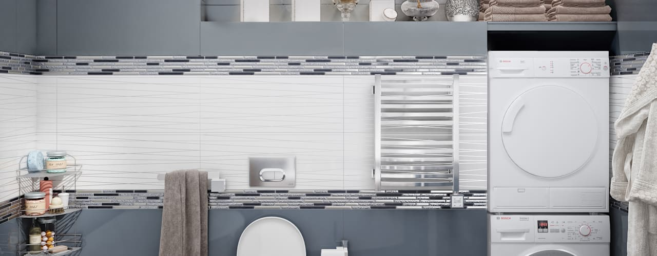 Salle de bain minimaliste par stiledesign Minimaliste