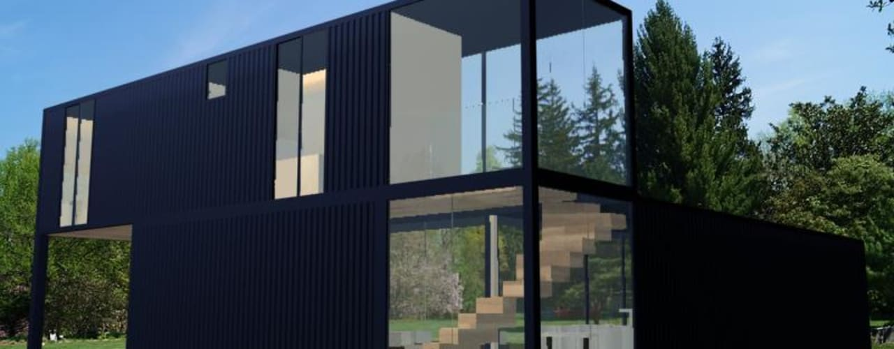 Будинки by PRISCILLA BORGES ARQUITETURA E INTERIORES