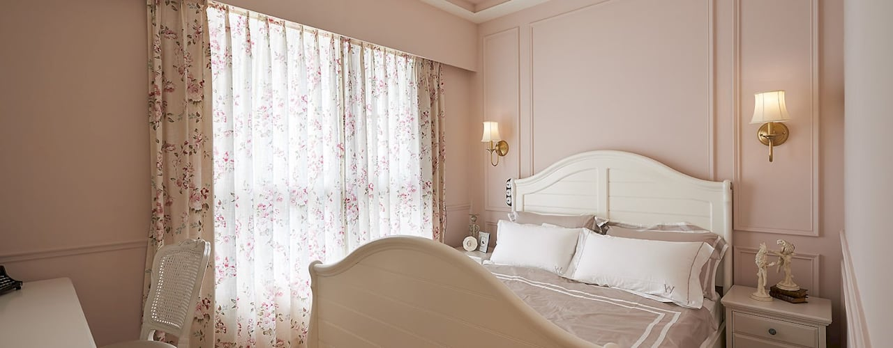 Country style bedroom by 理絲室內設計有限公司 Ris Interior Design Co., Ltd. Country