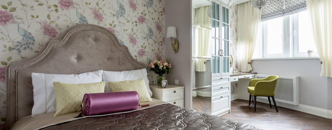 Ausgefallene Schlafzimmer von N-HOME | Ната Хатисашвили Ausgefallen