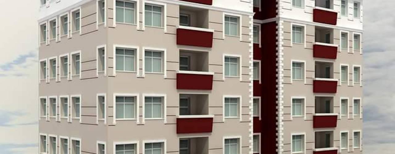 Casas modernas de yağmur mimarlık Moderno