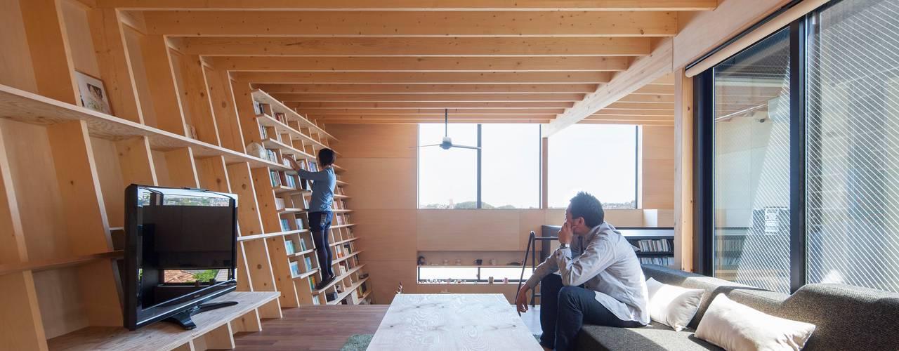 藤井伸介建築設計室 Modern living room