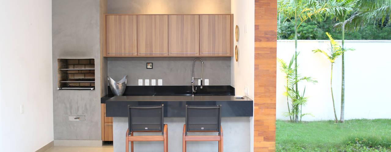 Casas de estilo  por Adriana Leal Interiores,