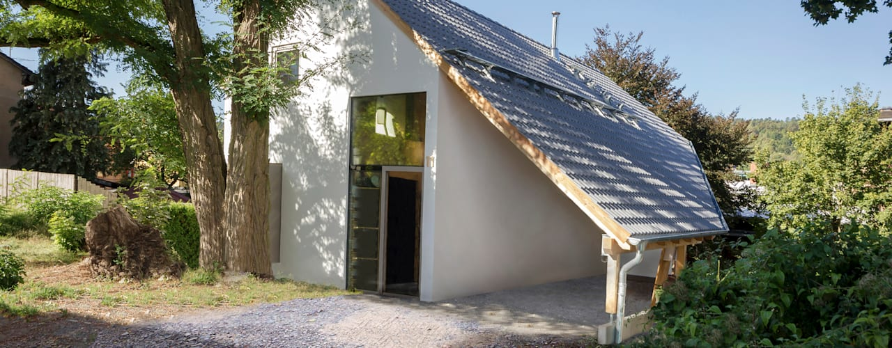Einfamilienhaus Schöne Aussicht:  Häuser von Planungsgruppe Korb GmbH Architekten & Ingenieure