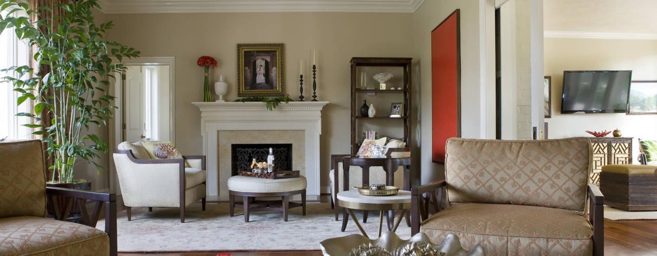 Гостиная в . Автор – Lorna Gross Interior Design