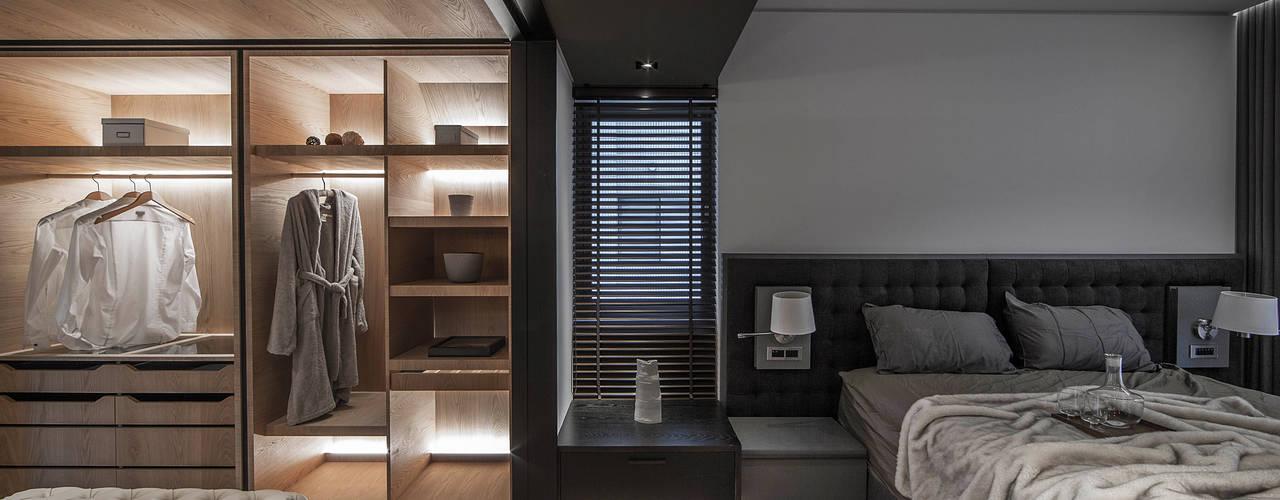 Phòng ngủ phong cách tối giản bởi 璧川設計有限公司 Tối giản